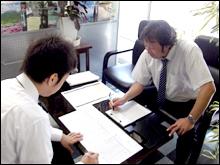 営業担当は現場作業を3ヶ月以上行った作業経験者ばかりのため、お客様のご要望に沿ったプランのご提案が可能です